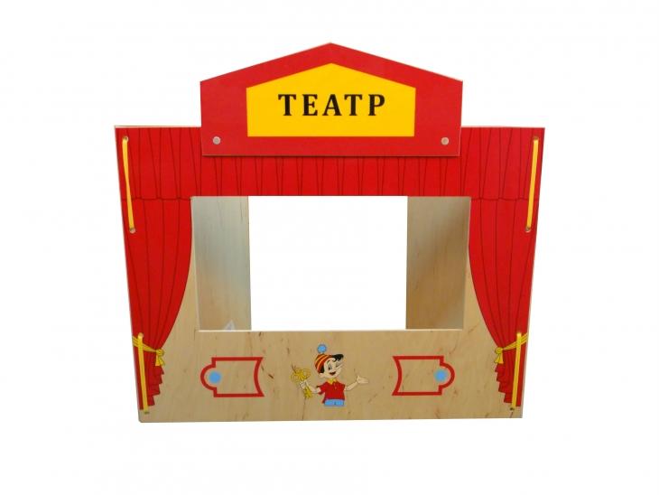 Настольная ширма для кукольного театра своими руками 24