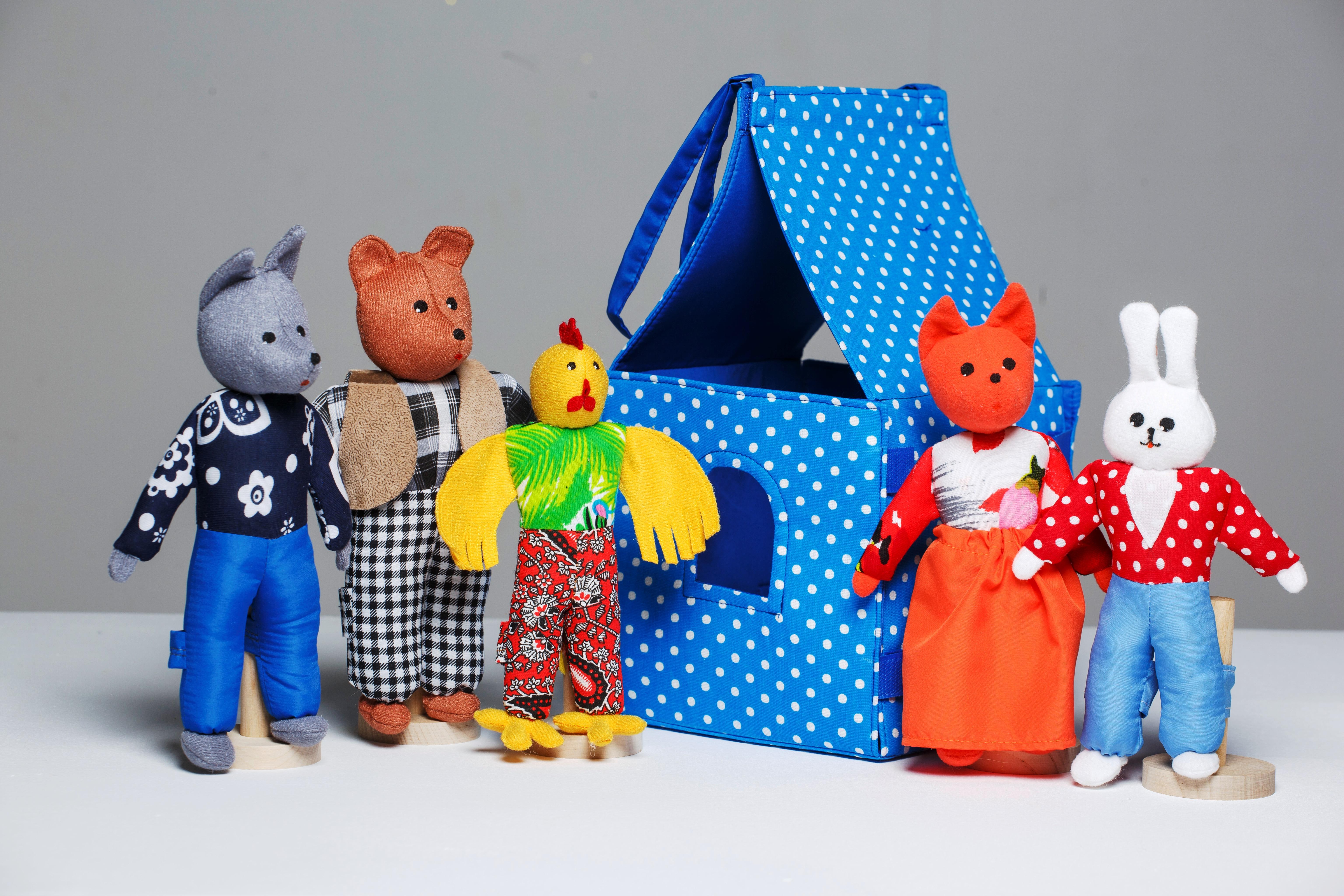 Как изготовить кукол для кукольного театра фото
