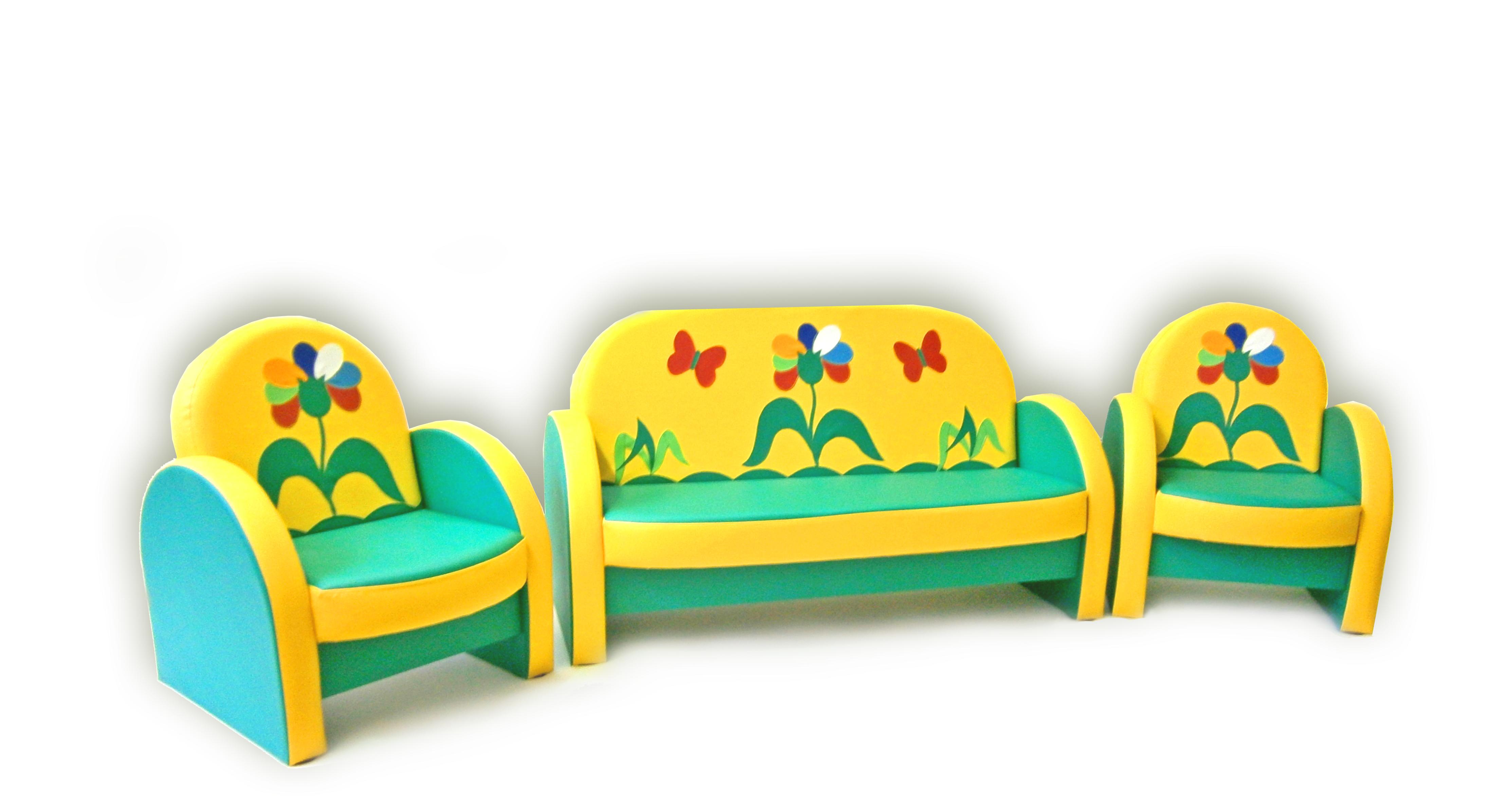 """Комплект мягкой мебели """"агата"""" семицветик, цена 13 580,00 ру."""