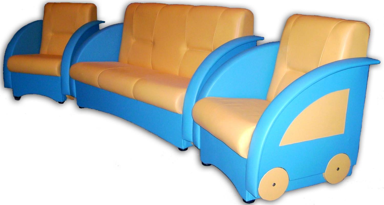 Мягкая мебель для детского сада - игрушки для детских садов.