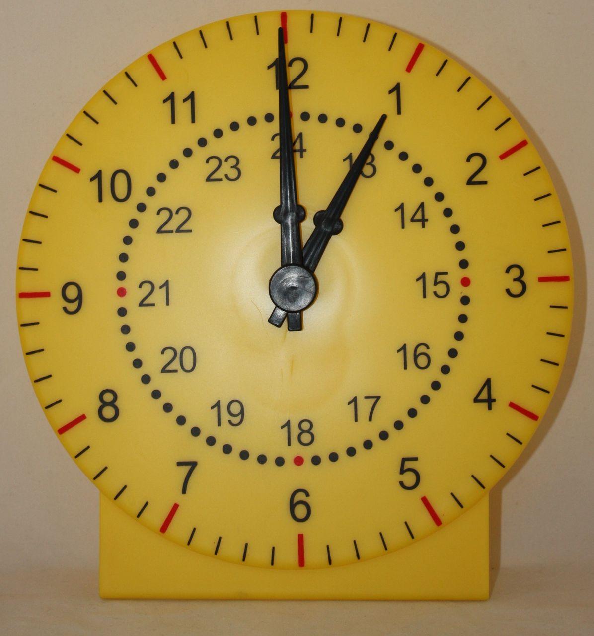 Модель циферблата часов для детей из бумаги своими руками 79
