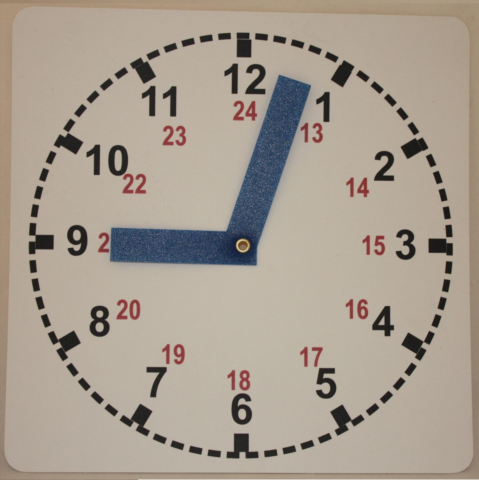 Бумажные часы своими руками 67